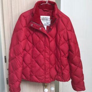 Eddie Bauer premium quality goose down jacket